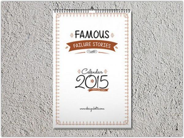 high quality calendar mockup
