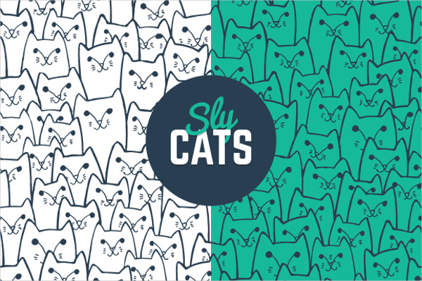 High Resolution cats pattern