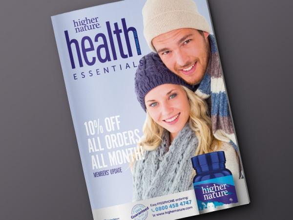 Higher Nature Health Essentials Brochure