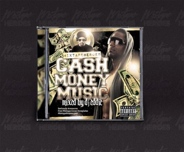 Hip Hop CD Cover Mock-up