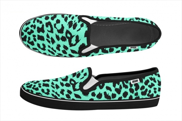 Hipster Vans Shoes Mock-up