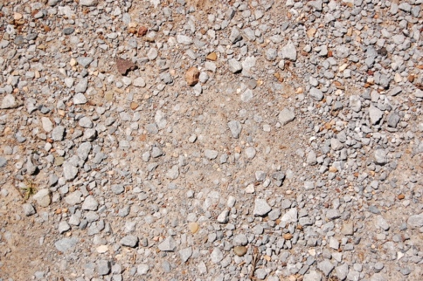 Horizontal Gravel road texture