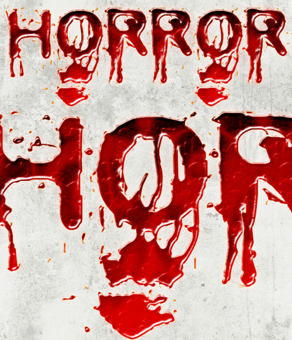Horror Blood Effect Font Style