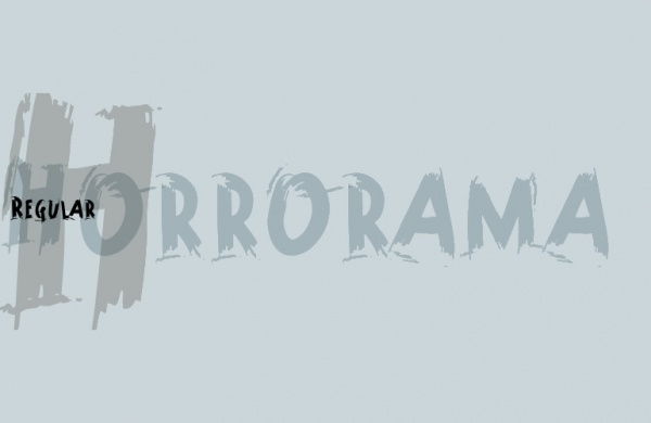 Horrorama Regular Font