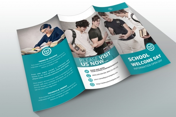 school brochure template - 10 school brochure designs freecreatives