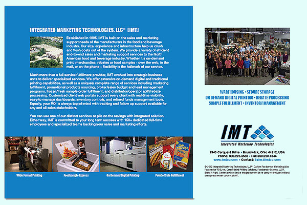 Integrated Marketing Technologies Brochures
