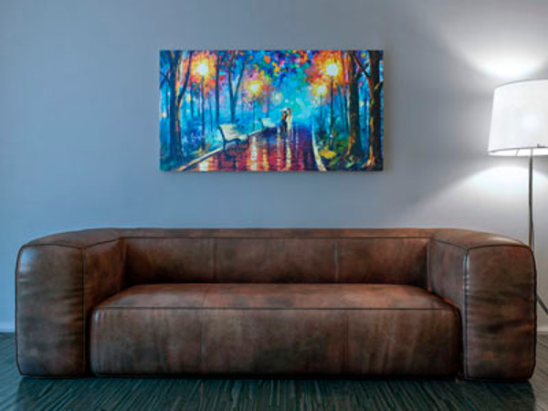 Interior Art & Sofa Mockup