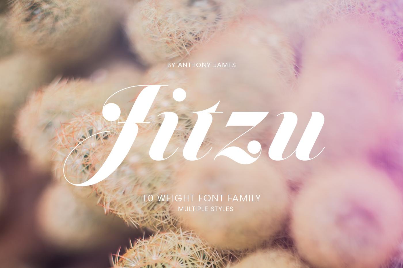 Jitzu Fashion Font