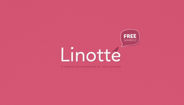 Linotte Casual Typeface