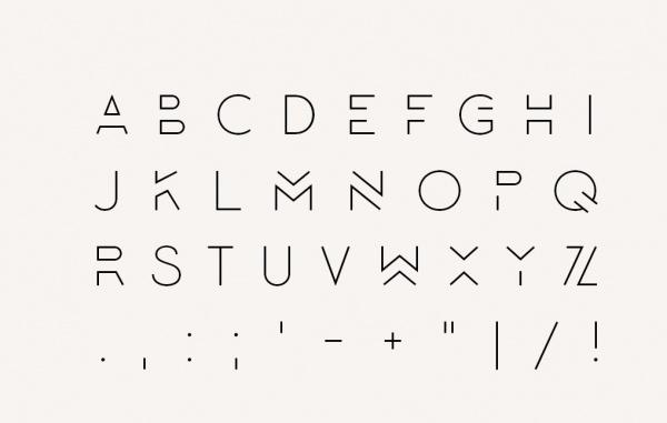 lombok corporate typeface