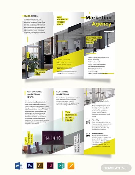 marketing tri fold brochure template1