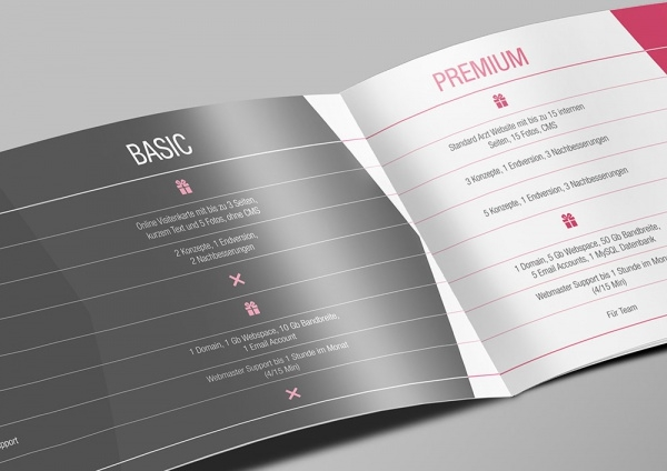 Marketing kit Branding Brochure Design