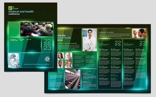 medical conference brochure