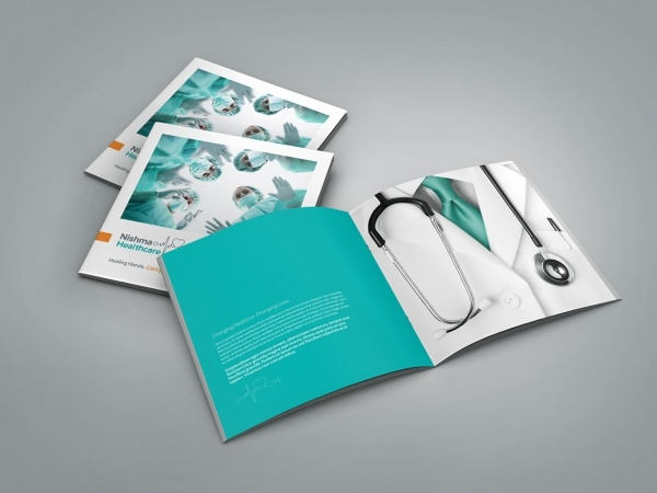 Medical Healthcare Profile Brochure