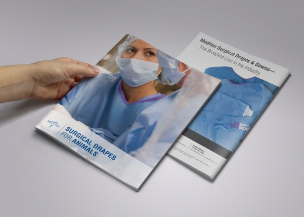 Medline Product Brochure Design