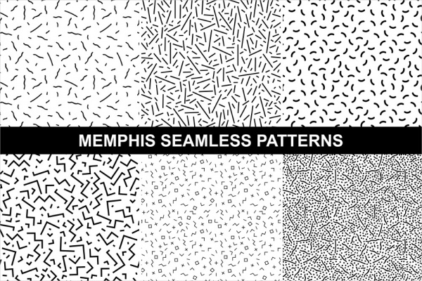 60 Memphis Patterns Photoshop Patterns FreeCreatives Unique How To Make A Seamless Pattern In Photoshop