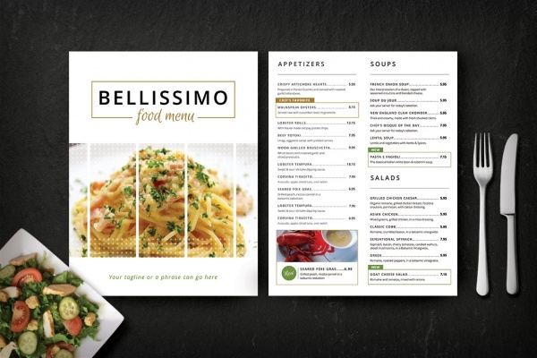 15+ Restaurant Menu Mockups | Freecreatives