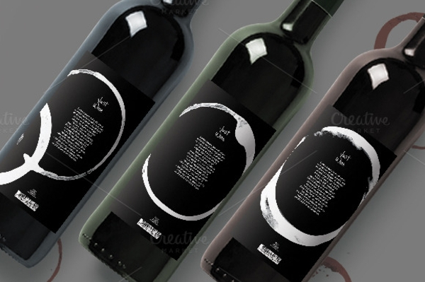 Modern Wine Labels Design