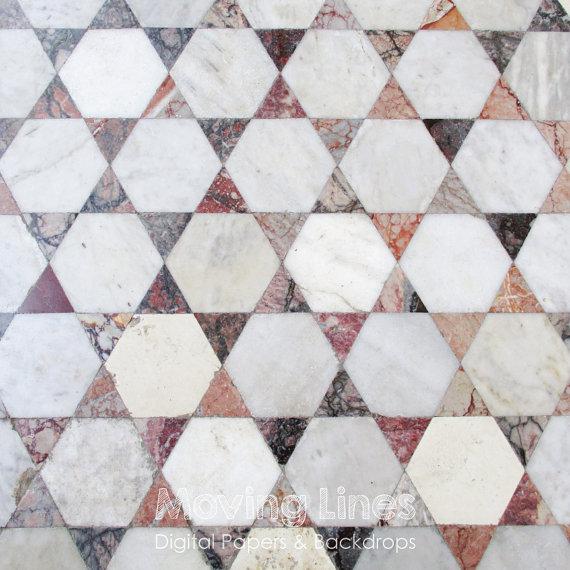 Mosaic Street Floor Texture