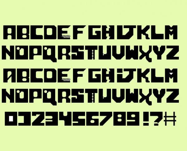 Neo Sci-Fi Font