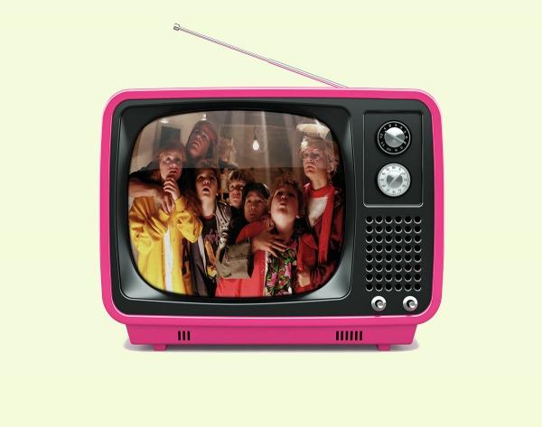 Old TV PSD Mockup
