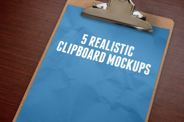 Optimized Clipboard Mockups