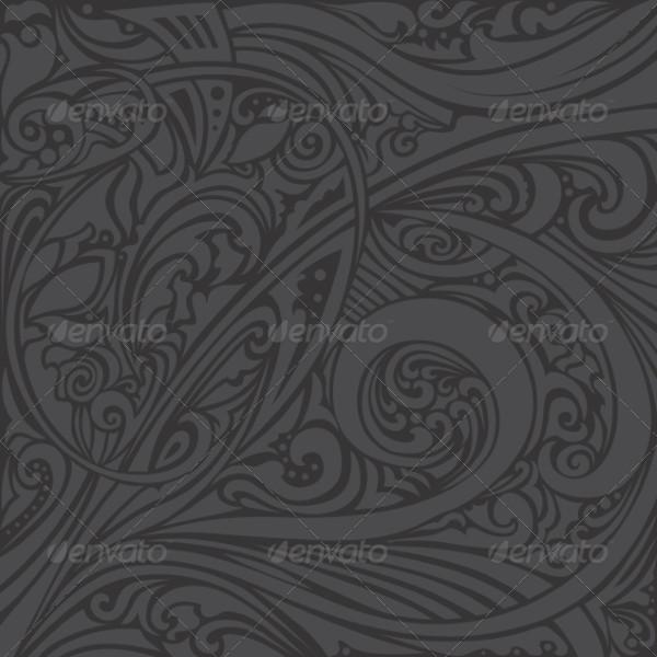 Oriental Islamic Swirl Pattern
