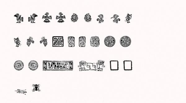 Ornamental Mexican Font