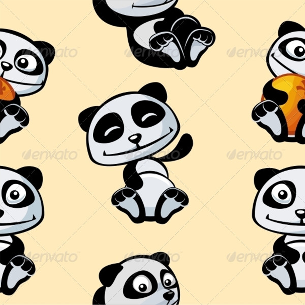 Panda Print Pattern