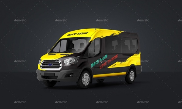 Passenger Van Mock-Up