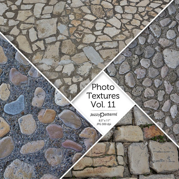 Paving Stones Photo Textures