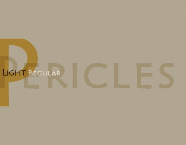 Pericle  Historical Typeface Font