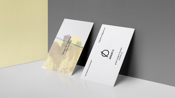 Personal Branding, Business Card Design