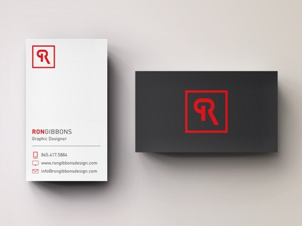 Personal logo and business cards