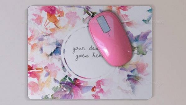 Photorealistic Mouse Pad Mockup