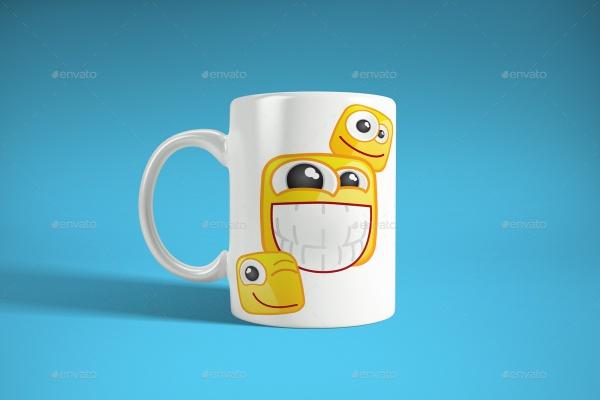 Photorealistic Simple Mug Mockup