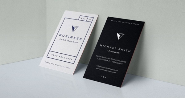Professional Branding Card Mock-Up