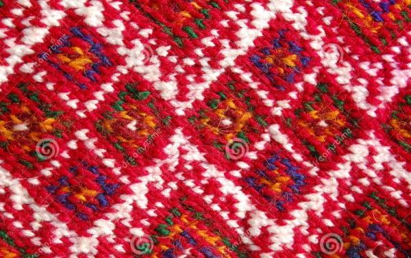 Red & Blue Carpet Patterns