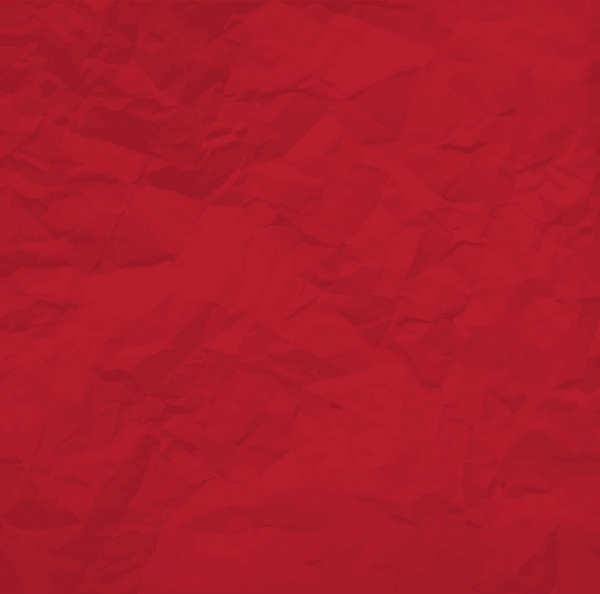 Red Crumpled Paper Vector