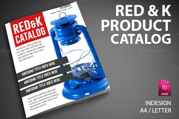 Red & K Product Catalog Brochure