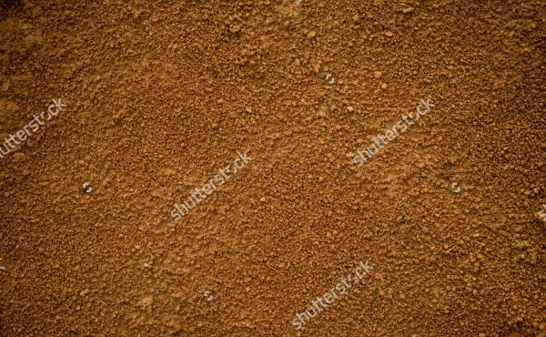 Red dirt soil background texture
