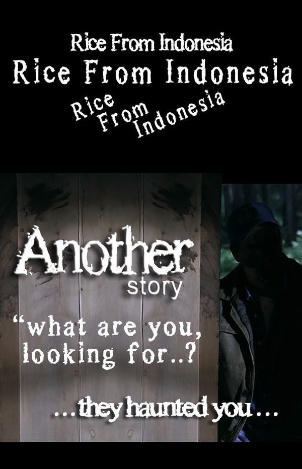 Rice From Indonesia Horror Font