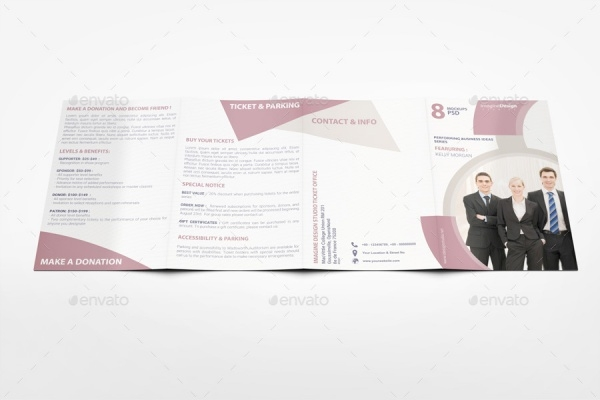 roll fold brochure template - 15 product brochure designs freecreatives