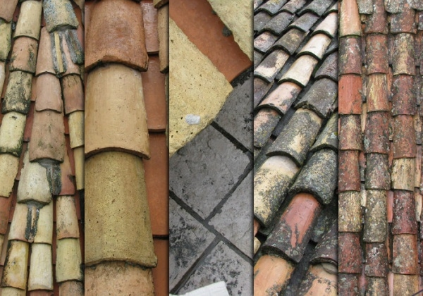 Roof tiles in Dubrovnik Texture