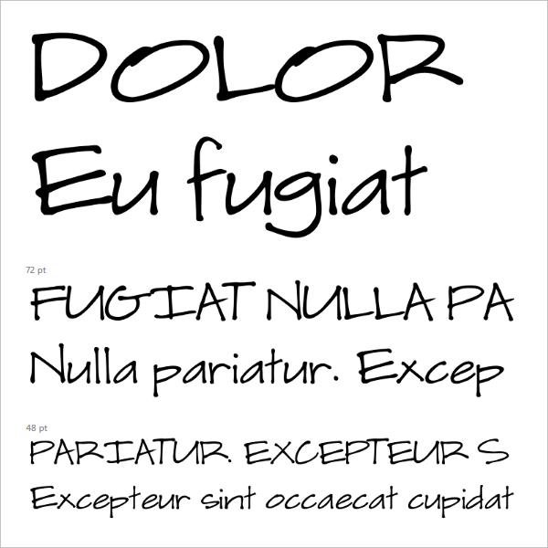 Scrap Casual Font