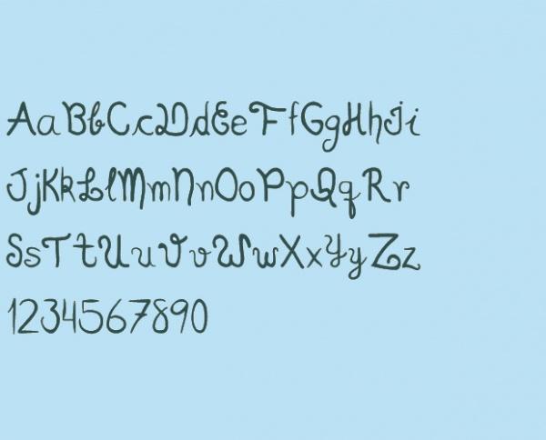 Scriptia Happy Font