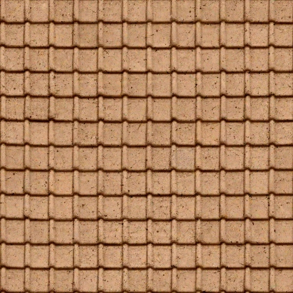 Seamless Roof Brown TileTexture