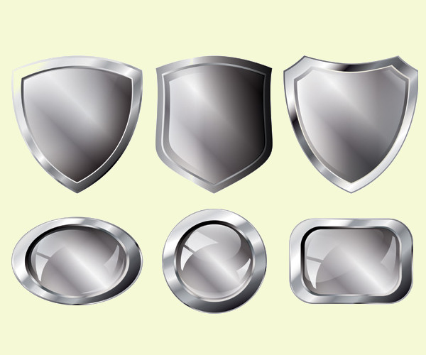 Silver Metal Series Vector