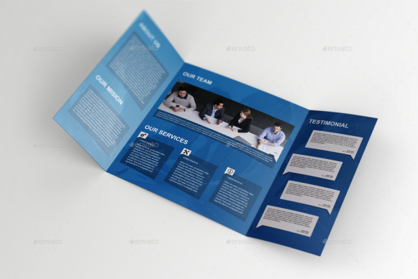Single Gate-Fold Brochure