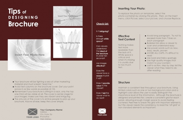 12+ One Page Brochure Designs | FreeCreatives